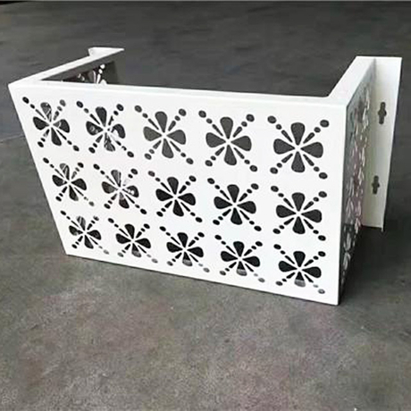 Aluminum CNC Carved Metal Panel Air-Conditioner Covering