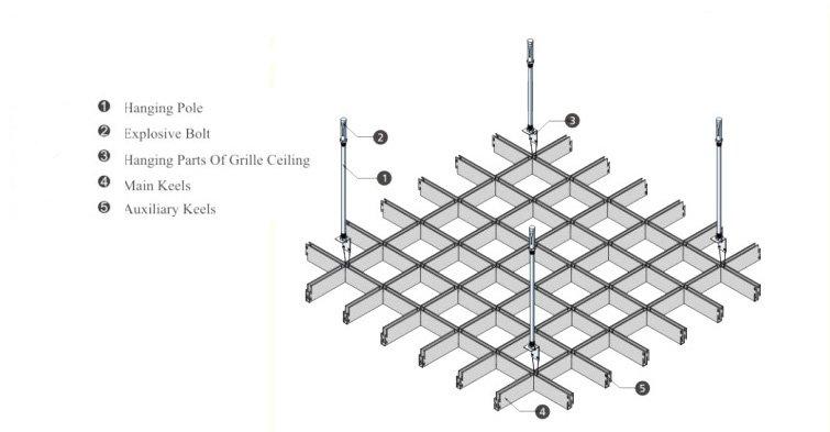 Aluminum grid ceiling 安装图.jpg