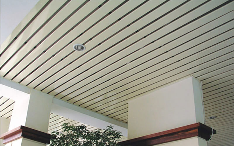 C-type aluminum strip ceiling and aluminum panel ceiling tiles