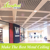 2020 Wood Grain Suspended Aluminum Grid Ceiling
