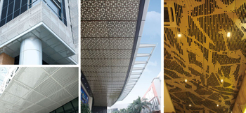 What are the advantages of carved aluminum panel?