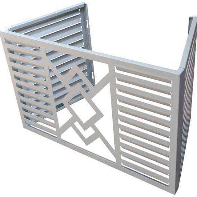 Prefabricated Perforated Aluminium Foldable Air-Conditioner Cover for External Decoration