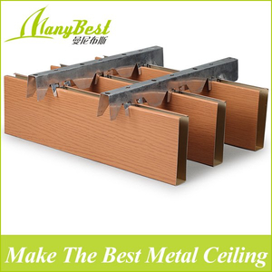 2020 Hot Sales False Aluminum Baffle Ceiling Designs