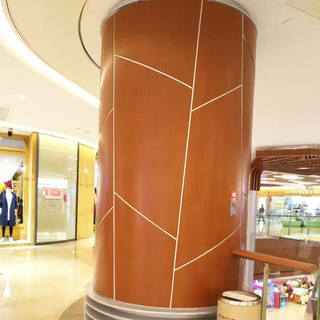 Metal Solid Panel Aluminum Column Cover for Building Decoration