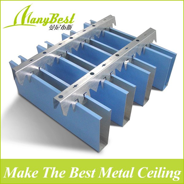 2019 Fashionable Aluminum Baffle Metal Ceiling for Commercial Buildings