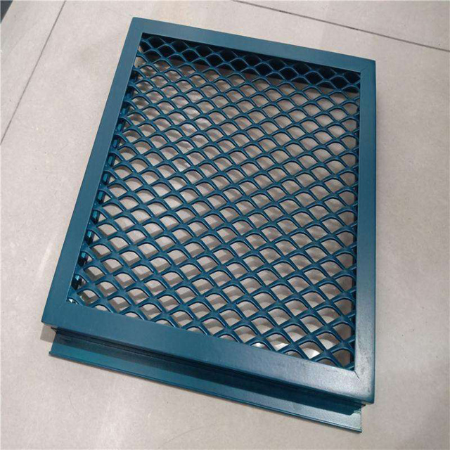 Hot Sale Slot Hole Aluminum Perforated Metal Mesh for Decoration