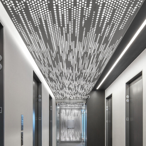 Punching Modeling Perforated Aluminum Ceiling Board Metal Sheet Trail in Use With CE SGS Certification