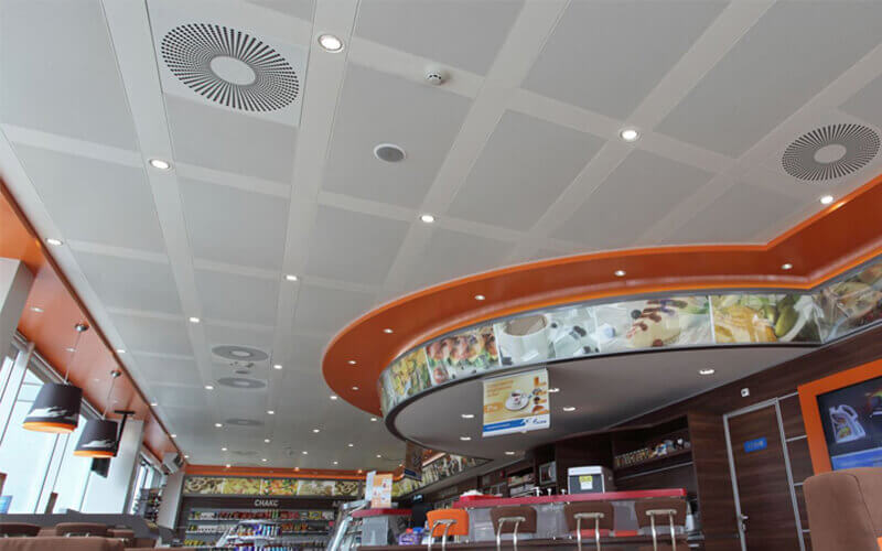 The advantages of aluminum ceilings make it impossible to pick out the shortcomings