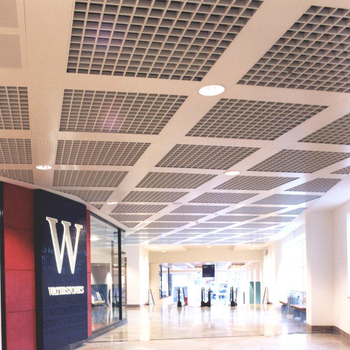 Canada Shopping mall Aluminum grid ceiling