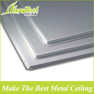 2020 Lay in Aluminum Flower Design Ceiling Board