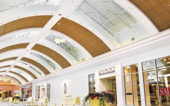 PVC is falling out of favor, aluminum ceiling is more popular