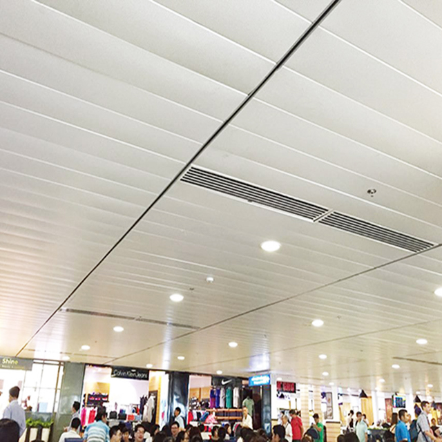 2020 China Hotsale Fantastic Metal Suspended Aluminum Strip Ceiling with CE SGS Certificate